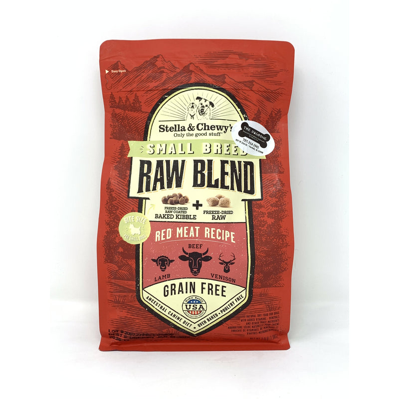 Stella & Chewy's Red Meat Raw Blend Dog Kibble (Small Breed)