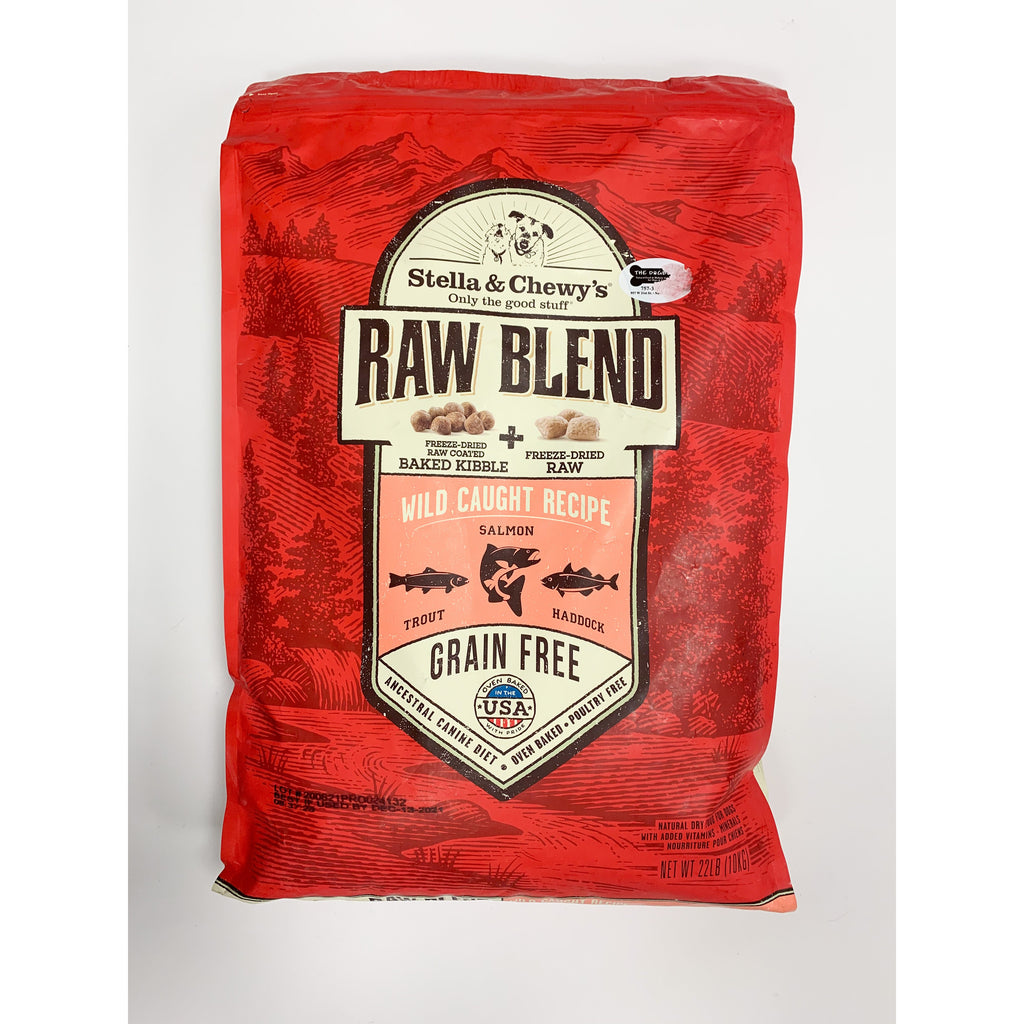 Stella & Chewy's Raw Blend Dog Kibble wild caught recipe