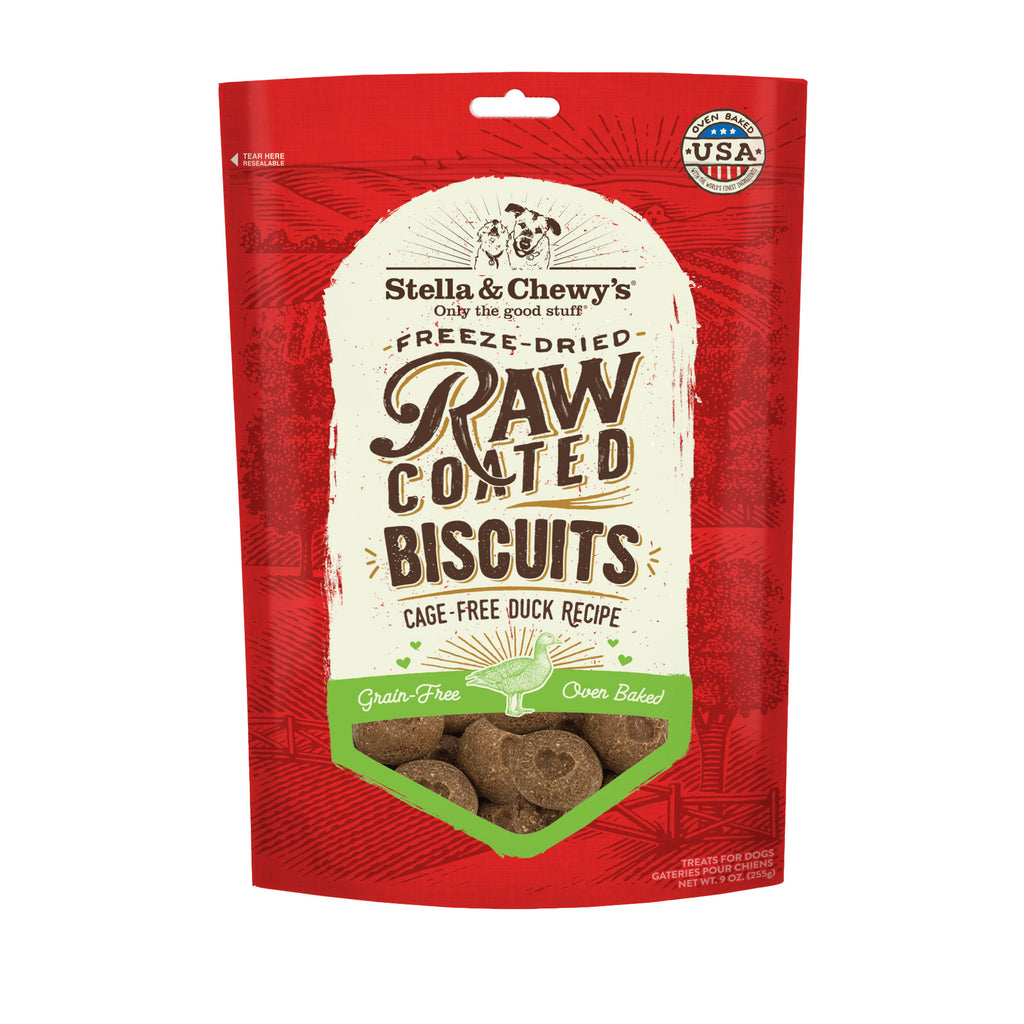 Stella & Chewy's Freeze-Dried Raw Coated Biscuits (9oz)