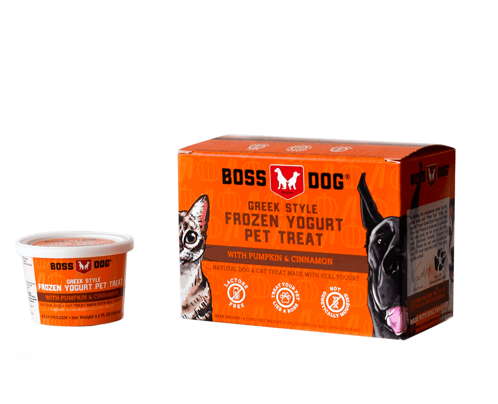 Boss Dog Frozen Yogurt Pet Treat