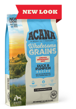 Acana Singles Duck & Pumpkin Recipe with Wholesome Grains Dry Dog Food