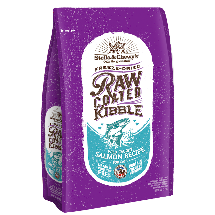 Stella & Chewy's Raw Coated Cat Kibble (5 lb)