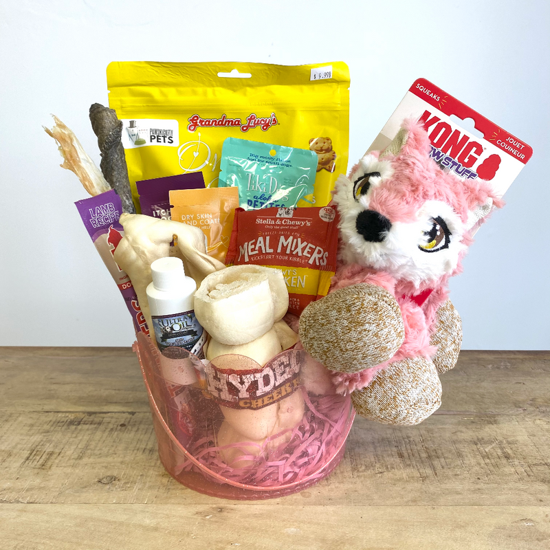 Doggie Treat Easter Basket - Fox