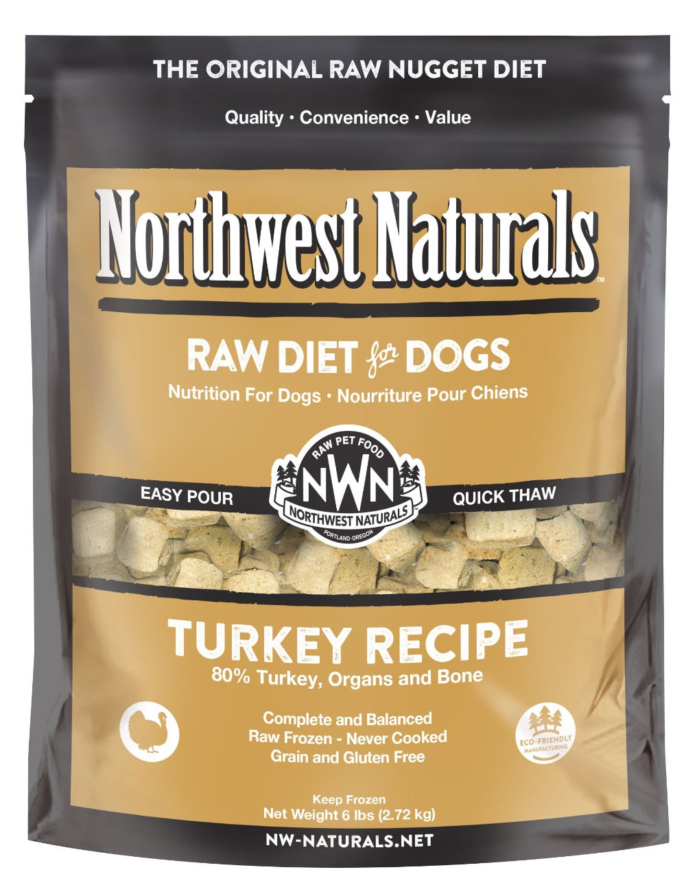 Northwest Naturals Raw Diets for Dogs - Nuggets