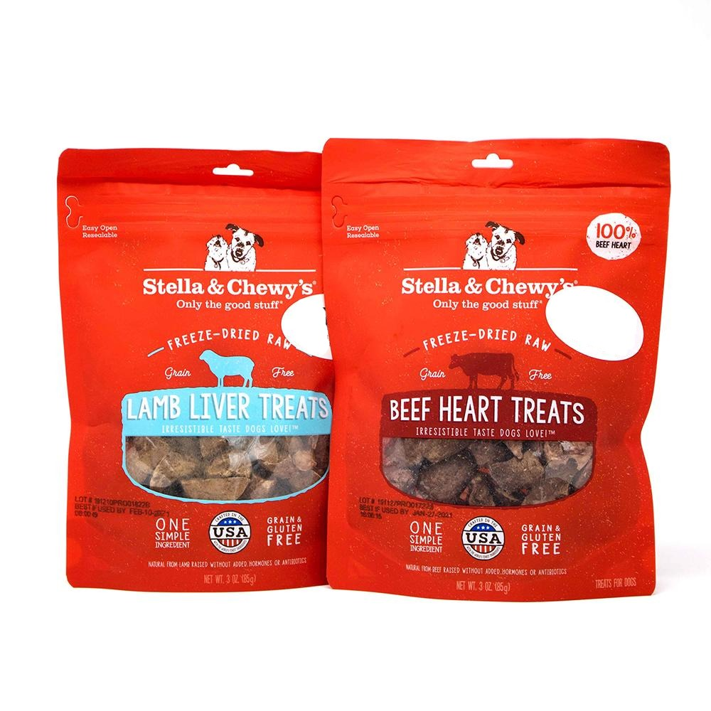Stella & CHewy Freeze dried treats