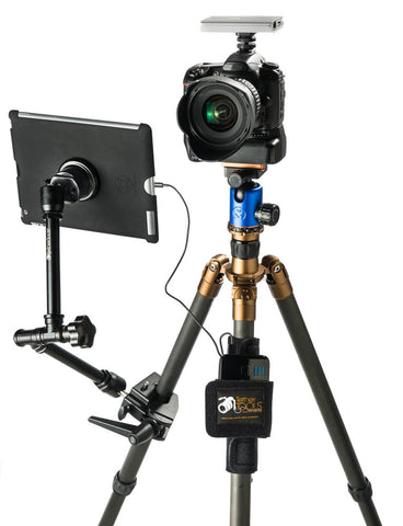 how to connect d3400 tripod mount