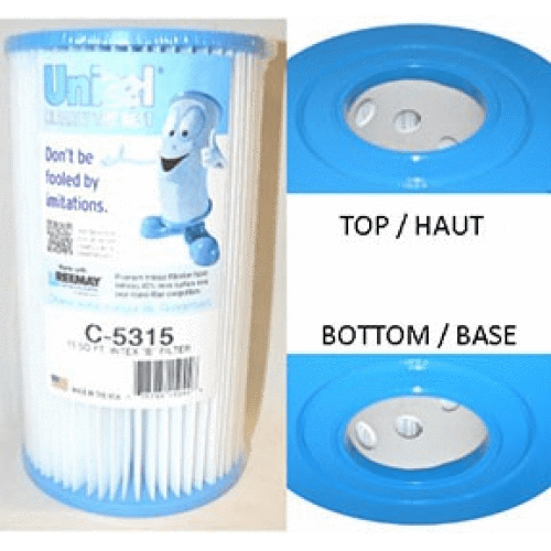 Unicel Hot Tub Filter Cartridge C-5315 - hot-tub-supplies-canada.myshopify.com