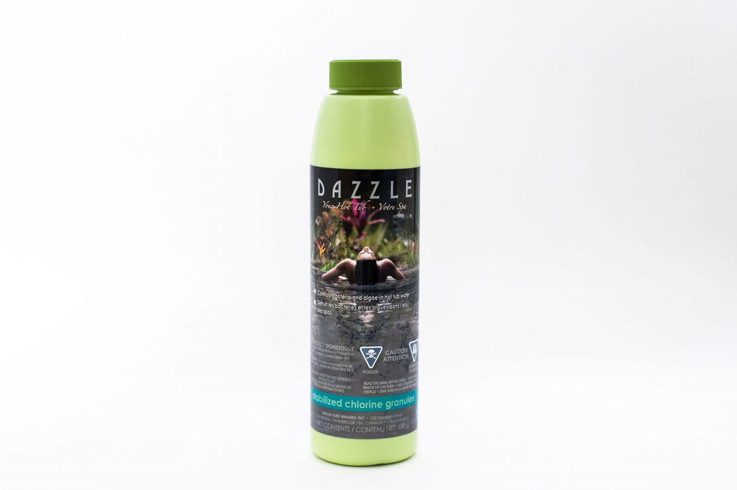 Dazzle Stabilized Chlorine Granules - hot-tub-supplies-canada.myshopify.com