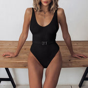 Sporty One Piece Swimsuit