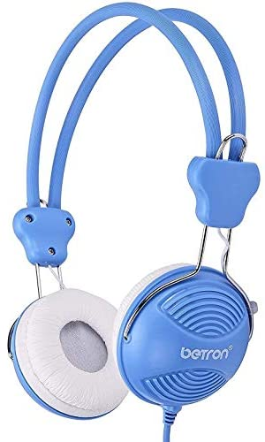 Betron NT902 Children's Headphones Safe Volume Limiting Kids Headphones Adjustable Headb Lightweight