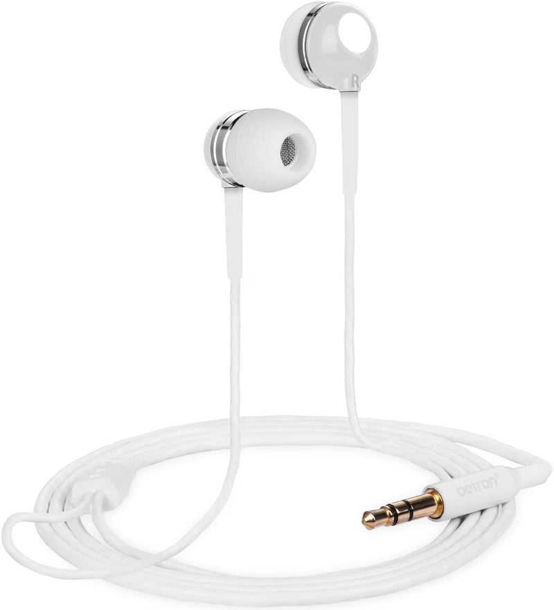Betron RK300 In-Ear Sport Earphone, Deep Bass and High Sensitivity for iPhone, iPad and Mp3 Players
