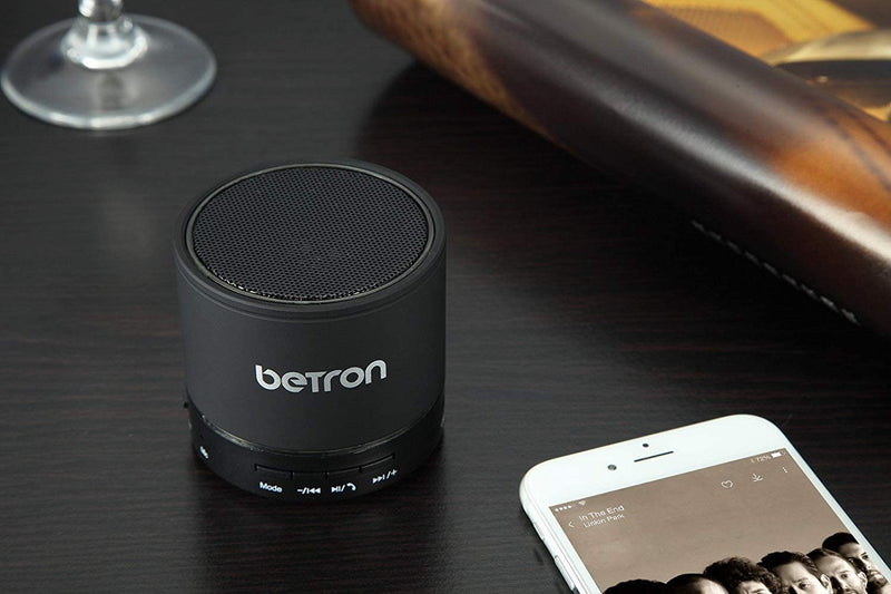 Betron KBS08 Wireless Portable Travel Bluetooth Speaker Radio MicroSD Card