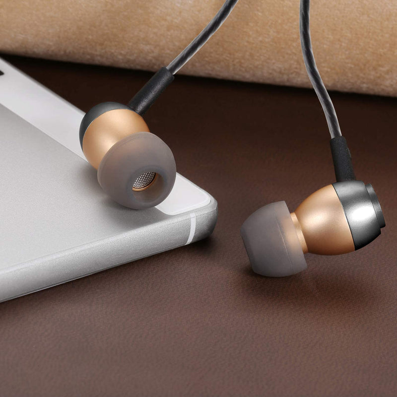 Betron GLD60 In Ear Earphones Noise Isolating Volume Control Microphone for iPhone iPod iPad MacBook