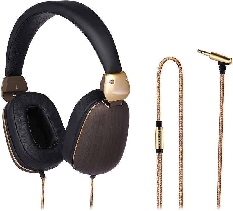 Betron HD1000 On Ear Headphones Bass Driven Sound With Powerful Acoustics Enhanced Clarity Includes
