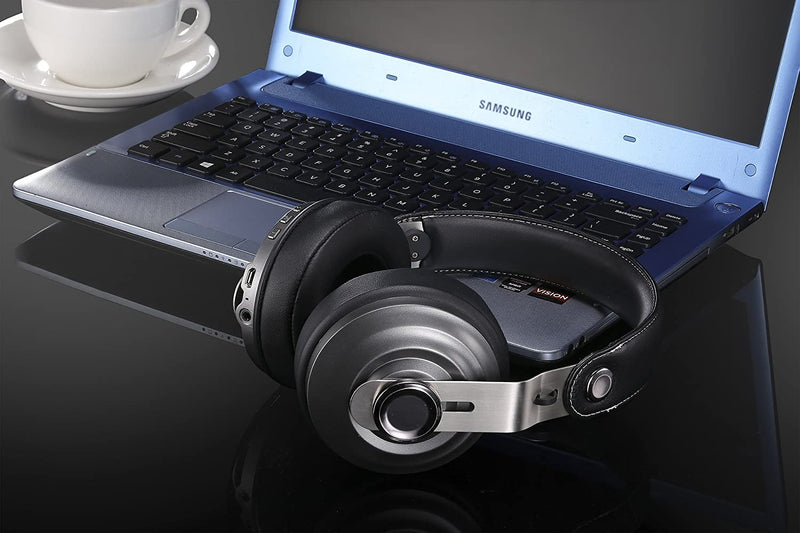 Betron HD800 Bluetooth Headphone with Built-In Microphone Volume Control Includes Hard Carry Case