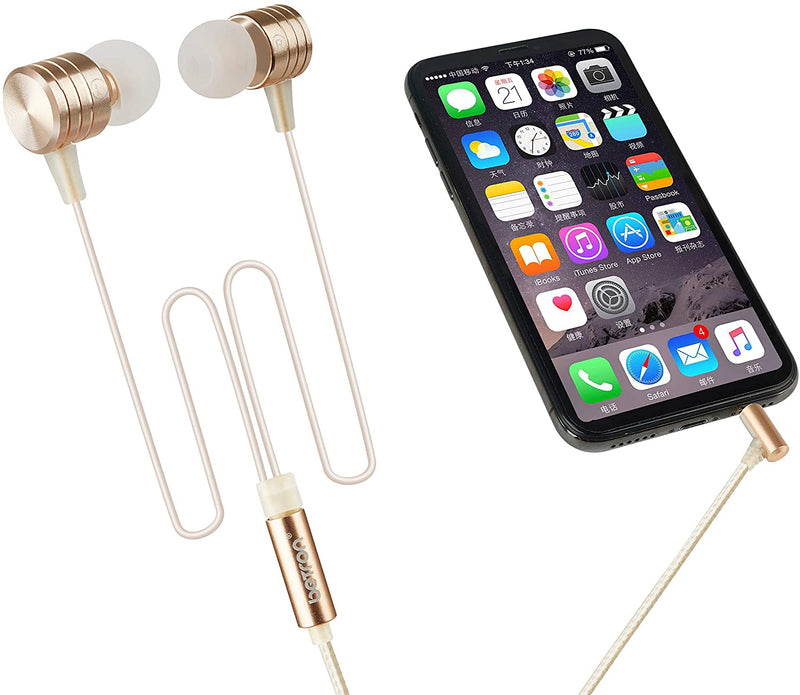 Betron B550s Earphones Noise Isolating Earbuds Heavy Deep Bass In Ear Headphone 3.5mm Audio Jack