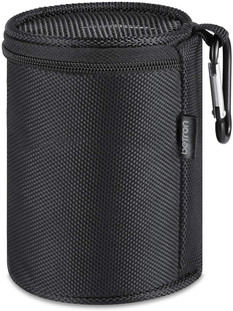 Betron Bluetooth Speaker Carry Case for Anker SoundCore Mini KBS08 and A3 with Carabiner, Black