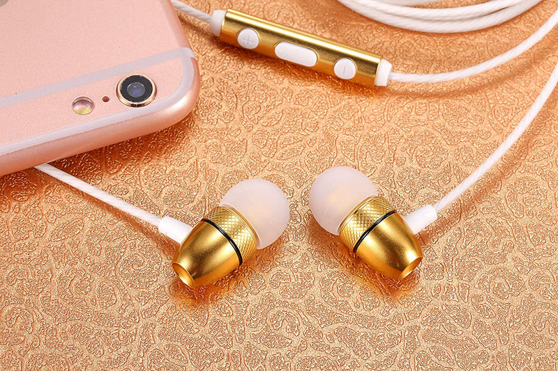 Betron ELR50 Earphones in Ear with Microphone Remote Control Including Carry Case 6 Silicon Ear Buds