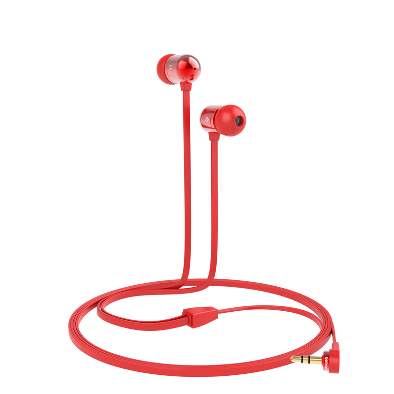 Betron B750s Earphones Tangle-Free Noise Isolating Heavy Deep Bass for iPhone iPod iPad Samsung