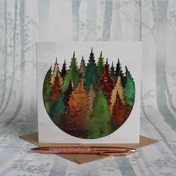 Treetops Roundscape Card