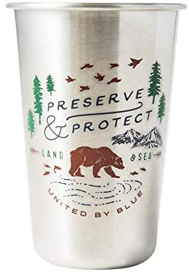 United By Blue | 16oz Stainless Steel Tumbler