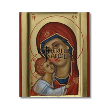 Load image into Gallery viewer, Theotokos Of Tenderness Canvas 20X24 Fine Art
