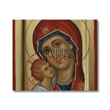 Load image into Gallery viewer, Theotokos Of Tenderness Canvas 24X20 Fine Art