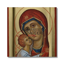 Load image into Gallery viewer, Theotokos Of Tenderness Canvas 24X24 Fine Art