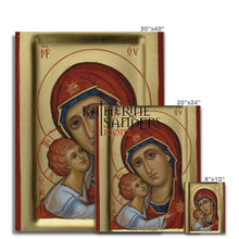 Load image into Gallery viewer, Theotokos Of Tenderness Canvas Fine Art