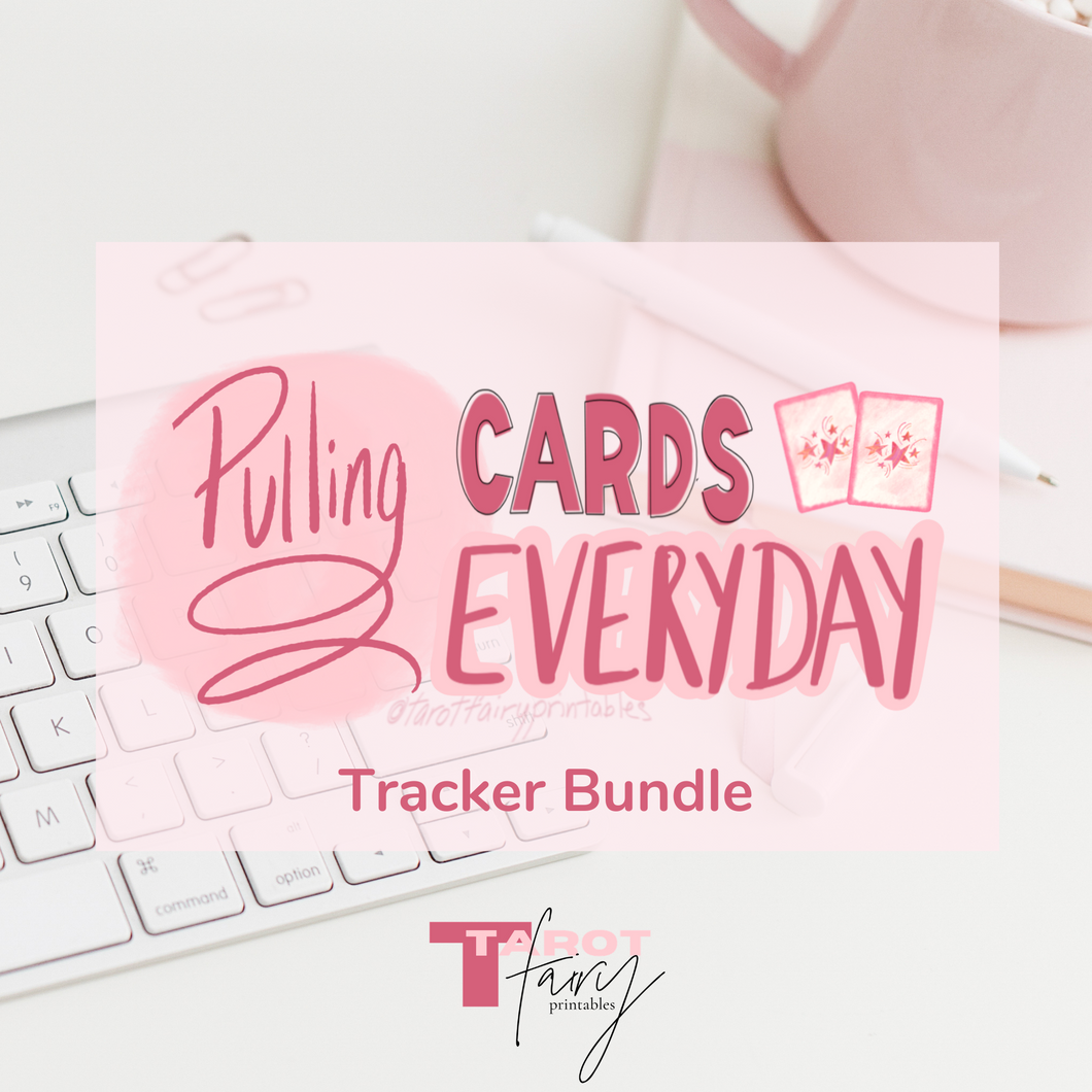 Pulling Cards Everyday Tarot Trackers
