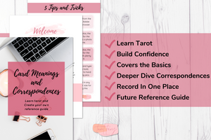 Tarot Meanings and Correspondences Workbook