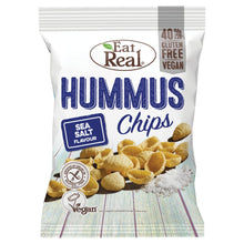 Load image into Gallery viewer, Eat Real Hummus Chips Sea Salt Flavour - UCSFresh