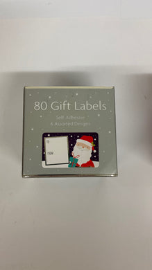 80 Self Adhesive Christmas Gift Labels - UCSFresh