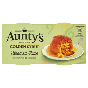 Aunty's Delicious Golden Syrup Steamed Puds - UCSFresh