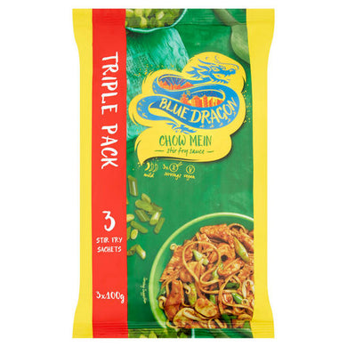 Blue Dragon Chow Mein Stir Fry Sauce Triple Pack - UCSFresh