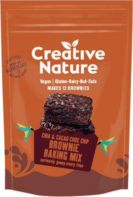 Creative Nature Chia & Brownie Baking Mix - UCSFresh