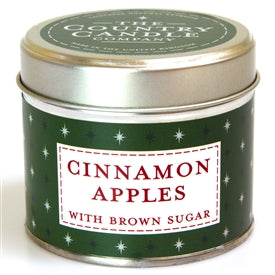 Candle In Tin - Cinnamon Apples - UCSFresh