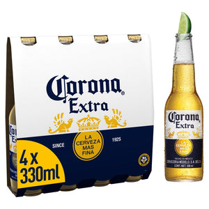 Corona Lager Beer Bottles 4 x 330ml - UCSFresh