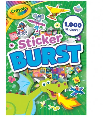 Crayola Burst Sticker Book - UCSFresh