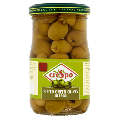 Crespo Pitted Green Olives in Brine - UCSFresh