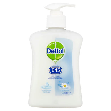 Dettol Anti Bacterial Liquid Hand Wash Camomile 250ml - UCSFresh