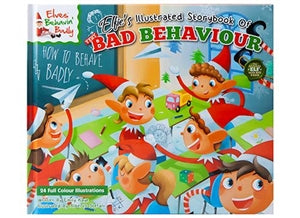 Christmas Story Book - The Illustrated Book of Bad Behaviour. - UCSFresh