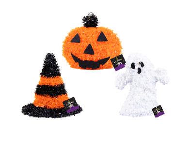 Halloween Tinsel Table Decoration - UCSFresh