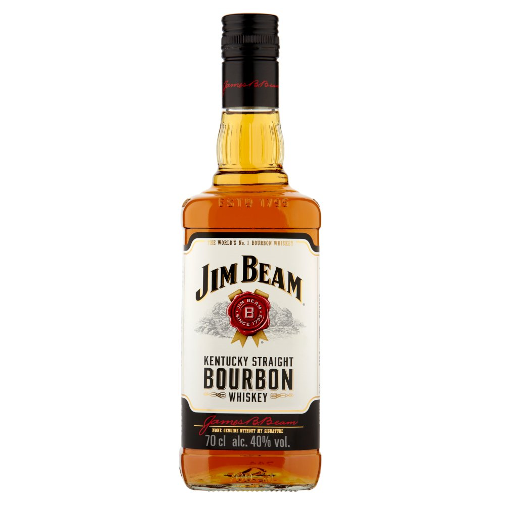 Jim Beam Kentucky Straight Bourbon Whiskey 700ml