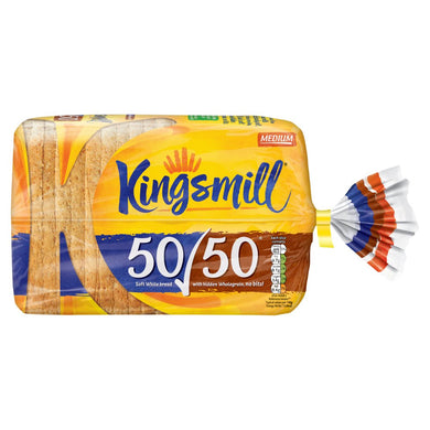 Kingsmill 50/50 Medium Bread 800g - UCSFresh