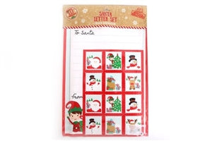 Christmas Letter To Santa And Sticker Set - UCSFresh