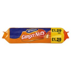 McVities Ginger Nuts Biscuits 250g - UCSFresh