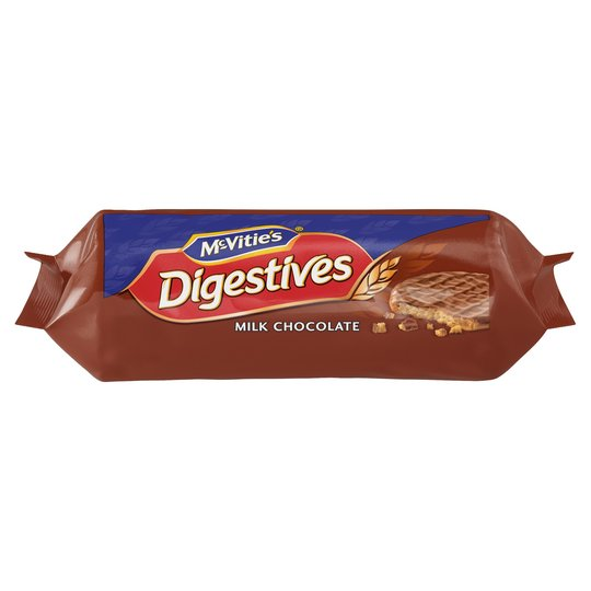 McVities Milk Chocolate Digestives 266g - UCSFresh