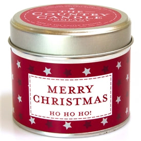 Candle In Tin - Merry Christmas - UCSFresh