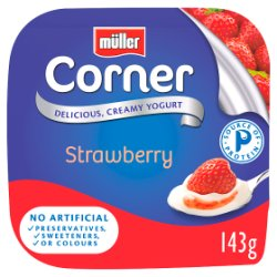 Müller Corner Strawberry Yogurt 143g - UCSFresh